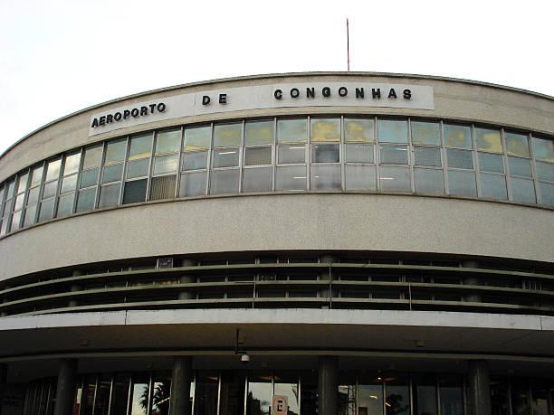 aeroporto de congonhas - aeroporto de congonhas - fotografias e filmes do acervo