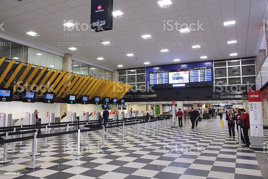 Congonhas Airport, Sao Paulo - foto de acervo