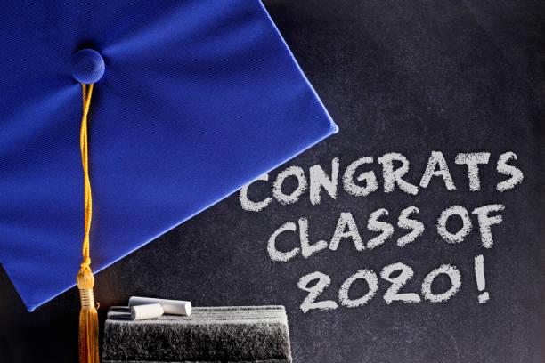 Congrats Class Of 2020 stock photo