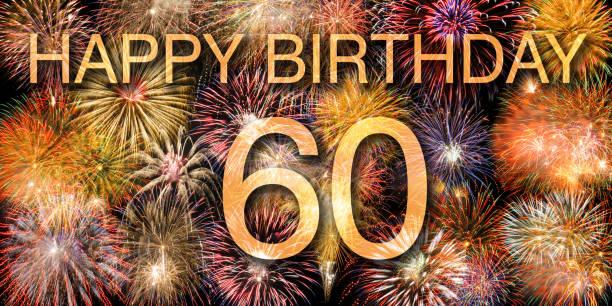 Herzlichen Glückwunsch und alles Gute zum Geburtstag 60. – Foto
