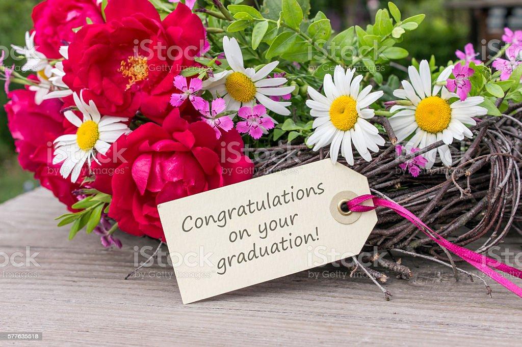 Congratulations on your Graduation - foto de stock