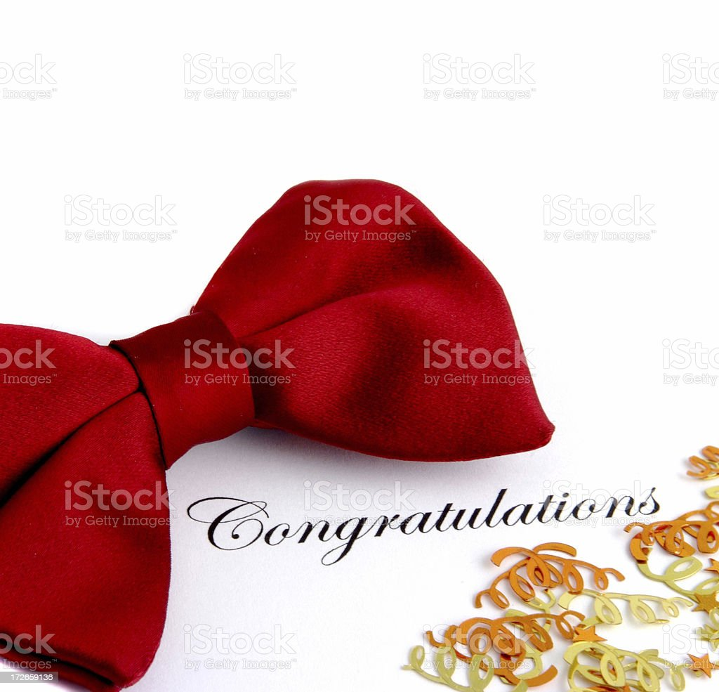 Congratulations royalty-free stock photo