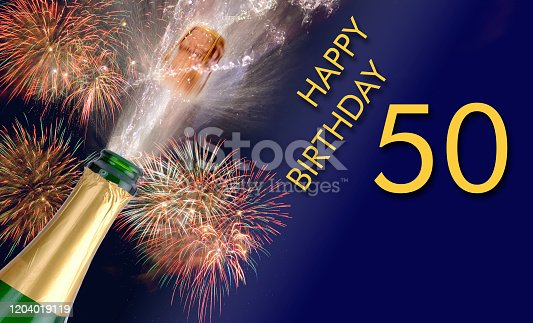 istock congratulations to happy 50th birthday 1204019119