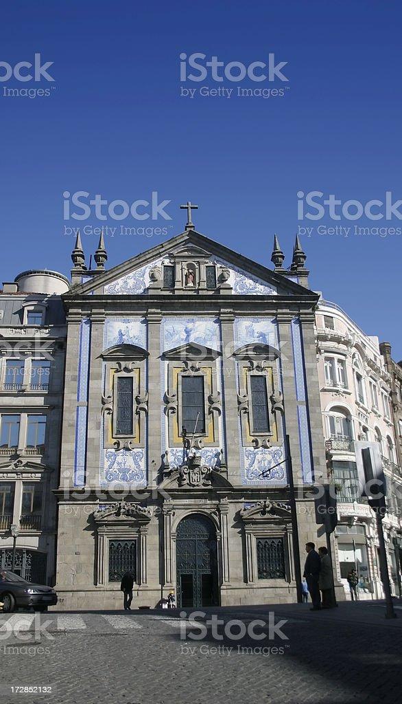 Congregados Church Porto stock photo