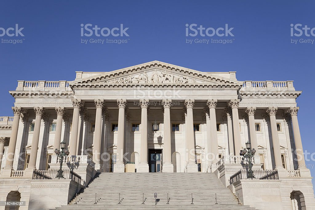 U.S. Congress Capitol Building stock photo