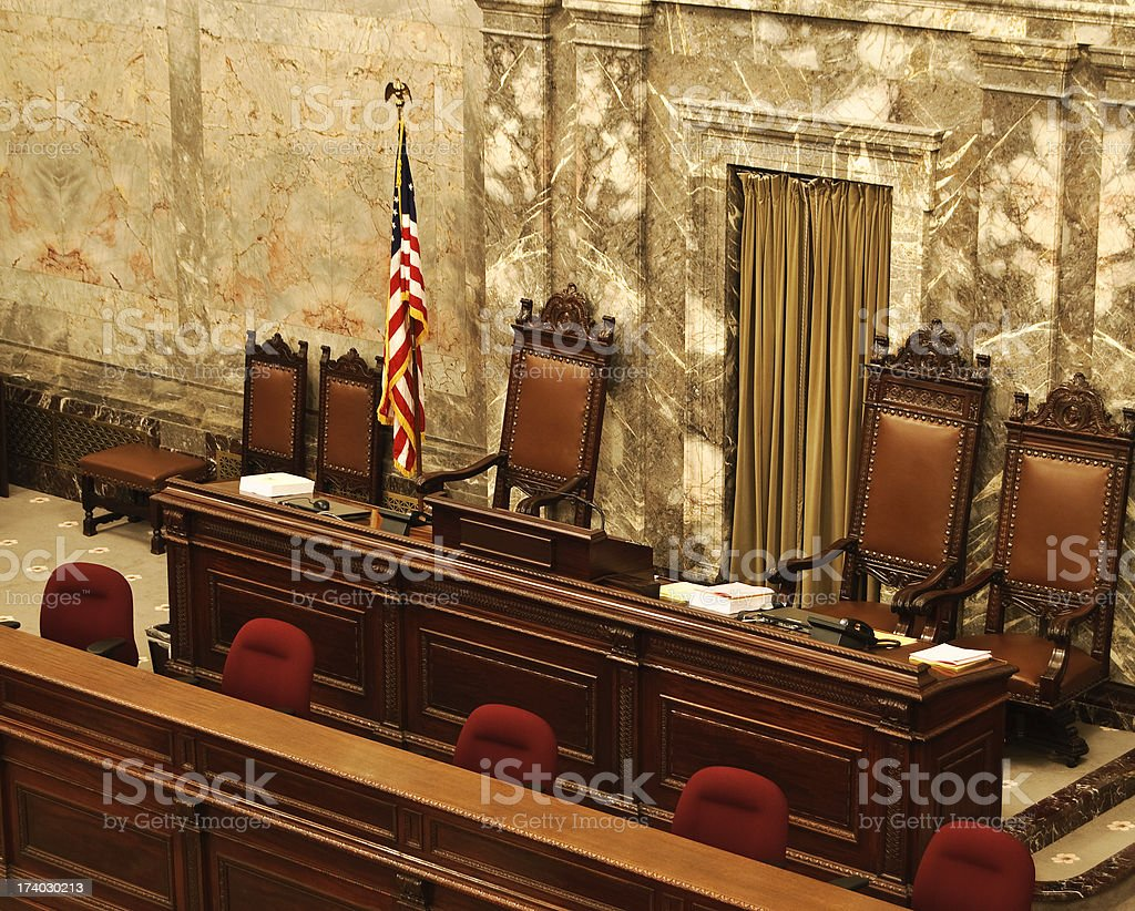 Congress Chamber stock photo