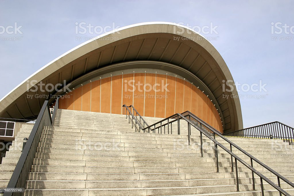 Kongresshalle in Berlin royalty-free stock photo