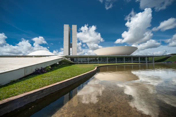 Congress of Brazil stock photo