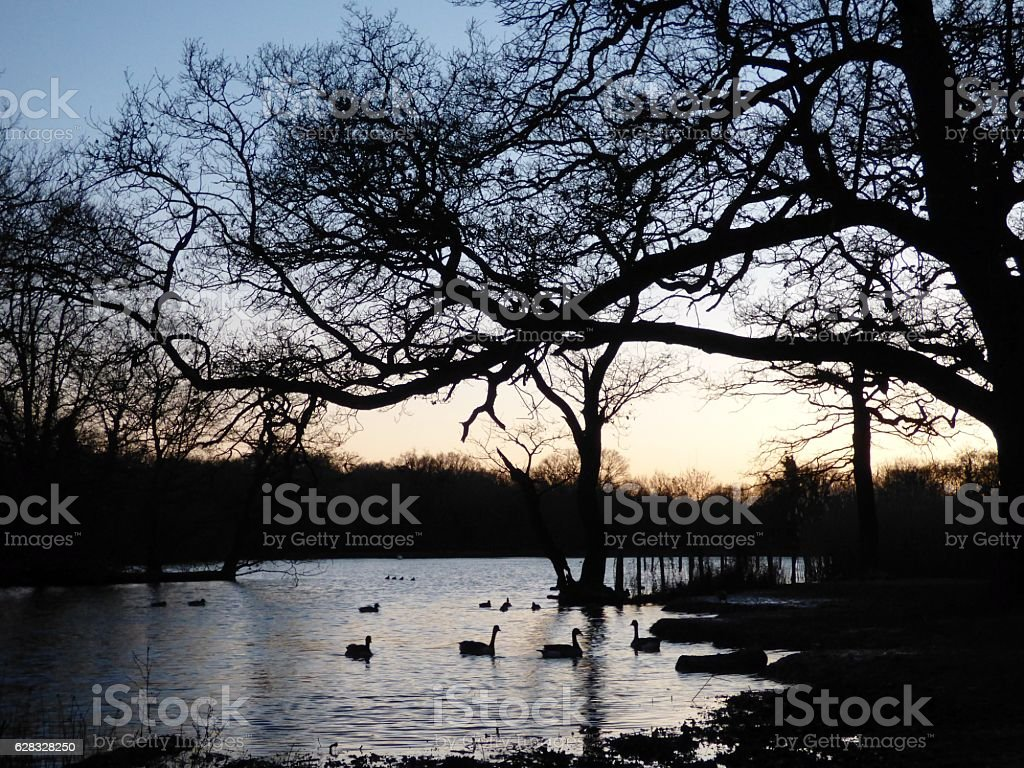 Connaught Waters stock photo