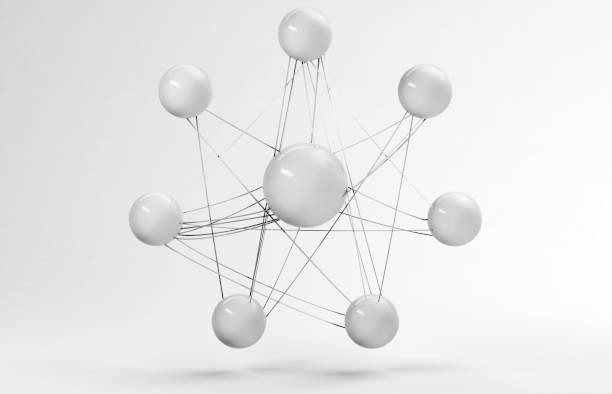 Conncetions Konzept 3D-Render – Foto