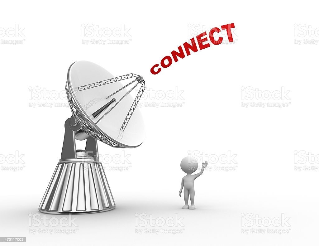 Connect concept royalty-free stock photo