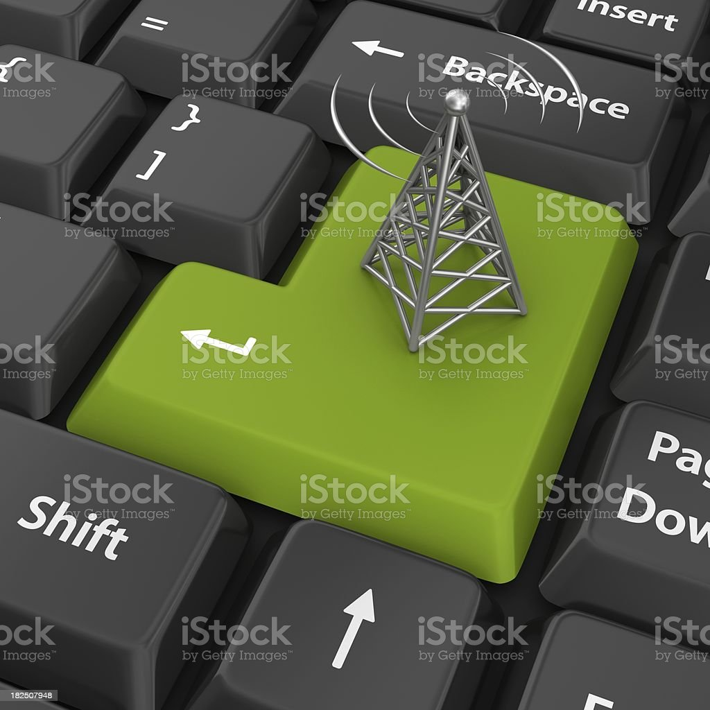 connect key royalty-free stock photo