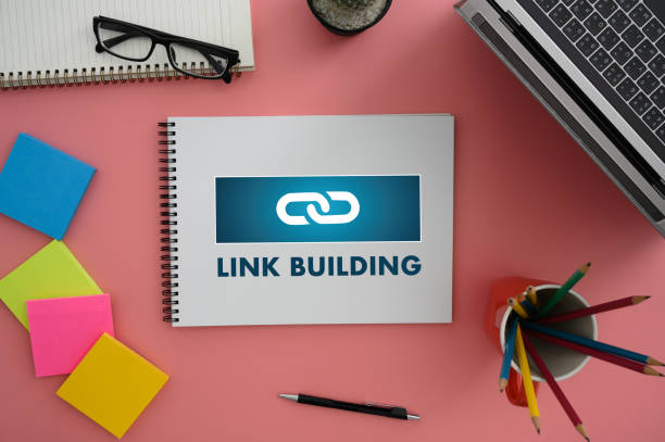 link building connect link communication contact network - photo reverse search stock pictures, royalty-free photos & images