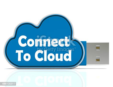Connect To Cloud Memory Stick Meaning Online File Storage