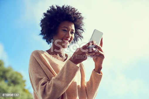 616898108istockphoto Connect to the things that keep you smiling 616898132