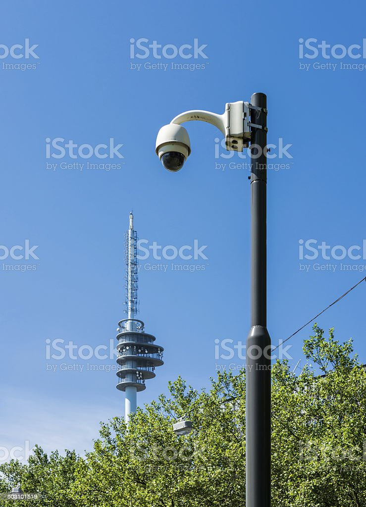 connected eye in the sky royalty-free stock photo