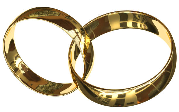 connected rings (bracelets) 2018 - hymen stock photos and pictures