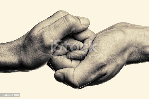 istock Connected  together and forever. 646407158