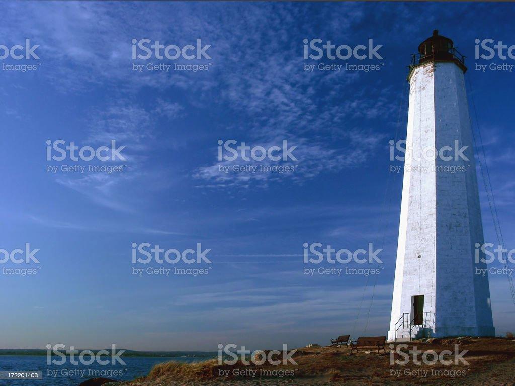 Connecticut Lighthouse stock photo