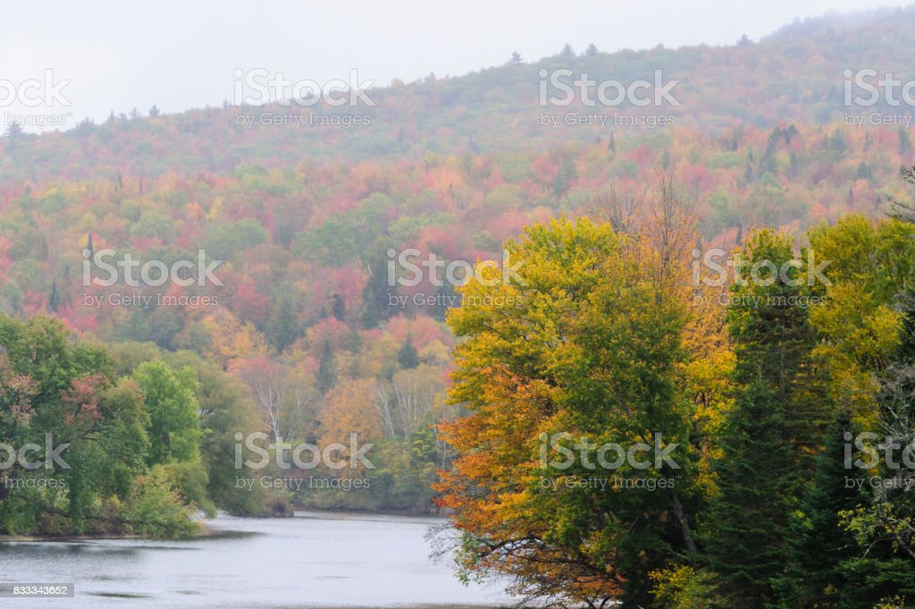 Connecticut River Valley stock photo
