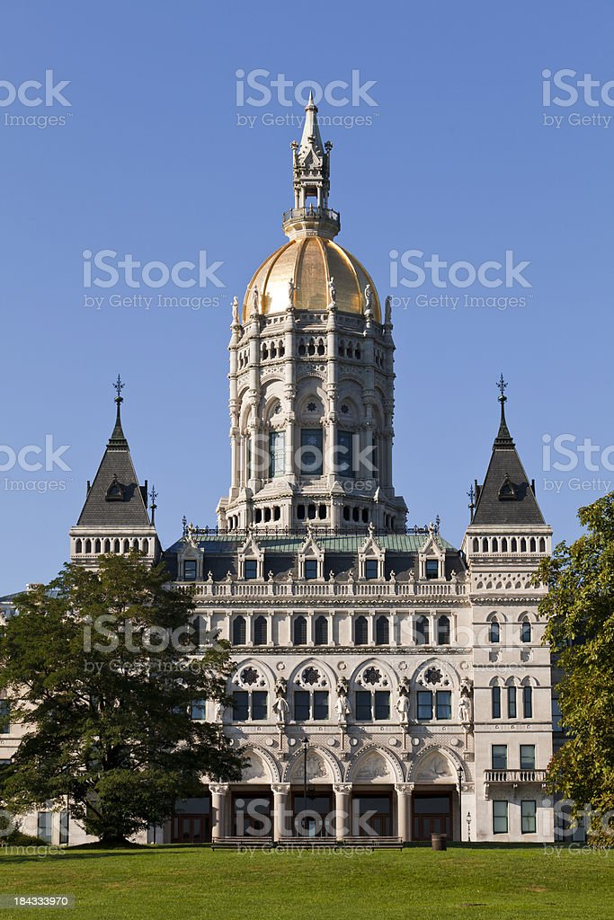Connecticut State Capitol stock photo