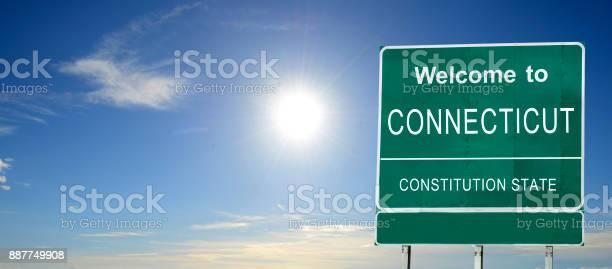 Connecticut welcome road sign picture id887749908?b=1&k=6&m=887749908&s=612x612&h=axdzoa2r3topcahkxvalv axo8in63ia knhdkmsylq=