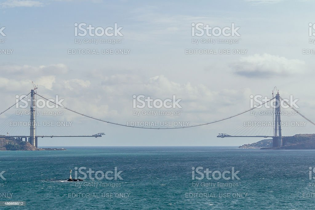 Connecting Europe and Asia stock photo