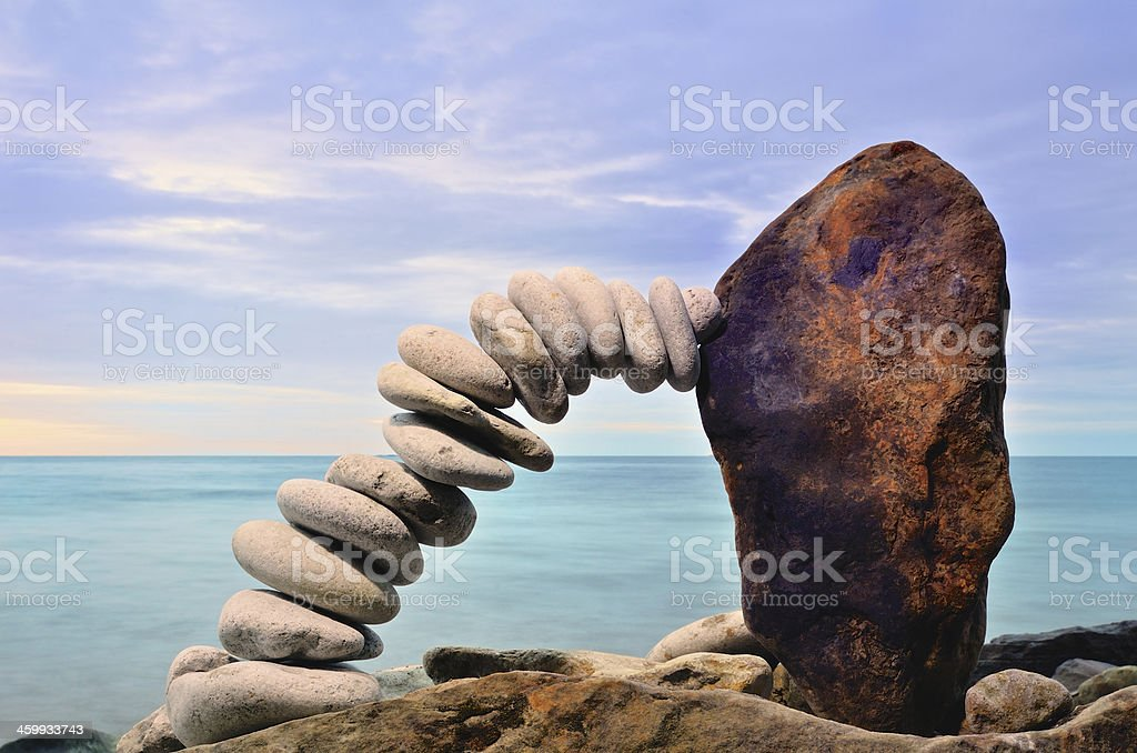 Connecting Link royalty-free stock photo