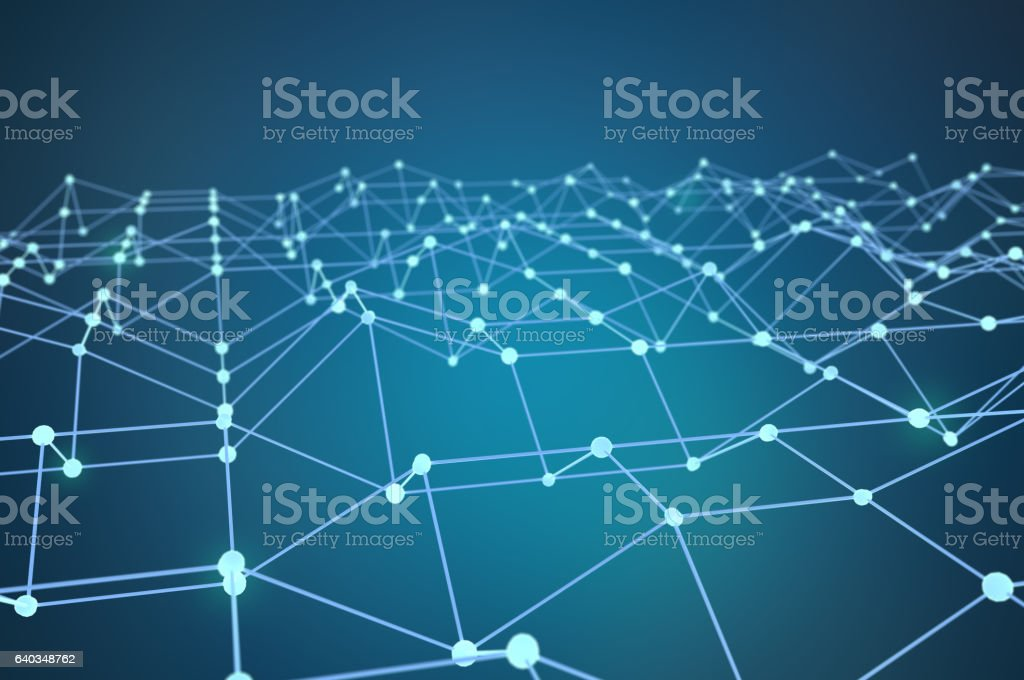 Connecting node stock photo