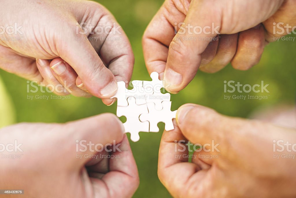 connecting the dots - concept image royalty-free stock photo