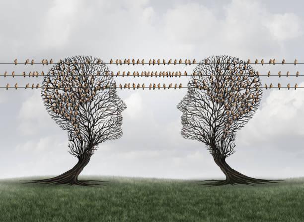 Kommunikations-Verbindungsnetzwerk – Foto