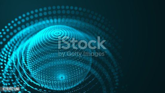 istock Connection network technology design 619397186
