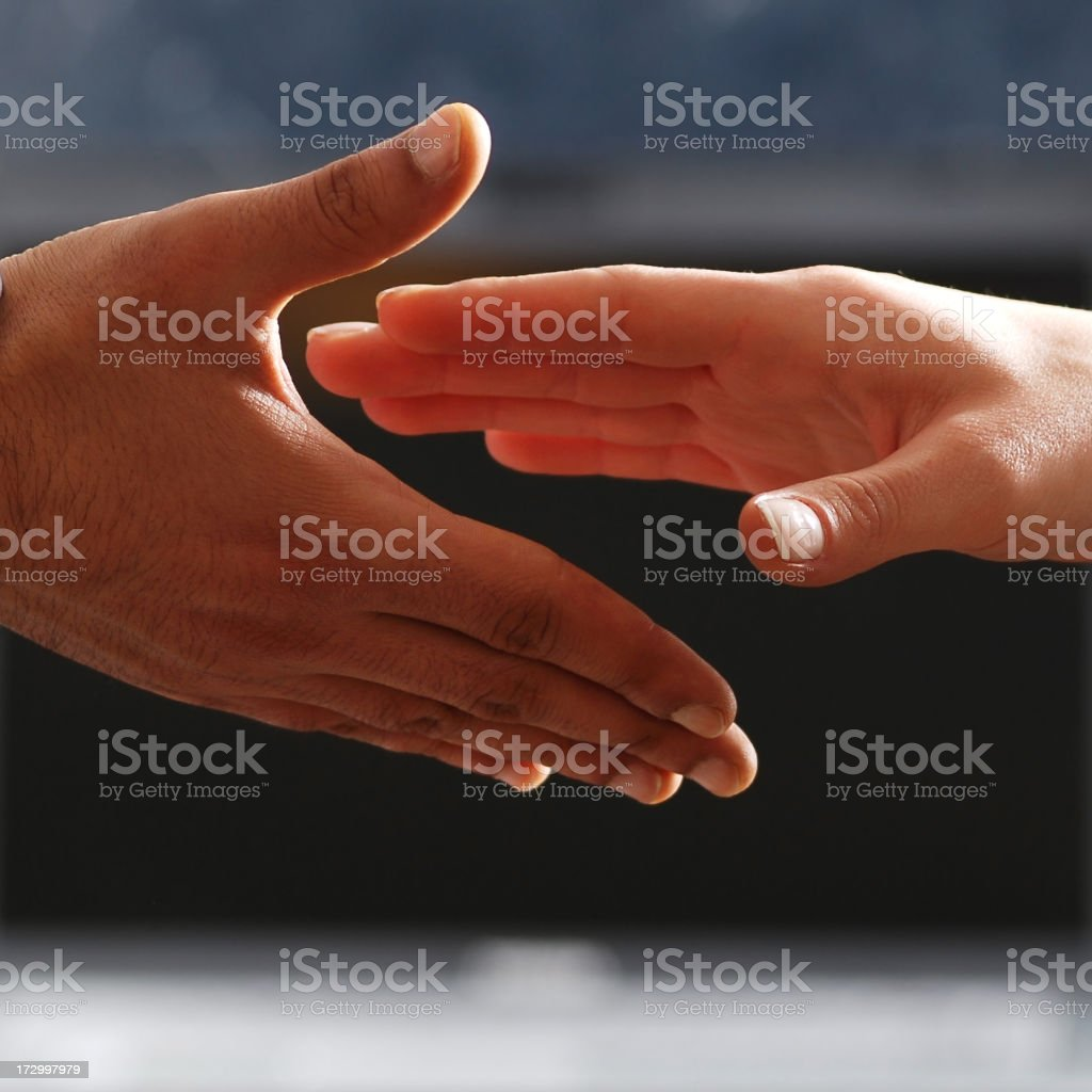 connection of people royalty-free stock photo