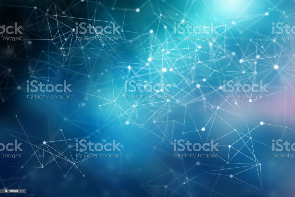 Connection technologies backdrop stock photo