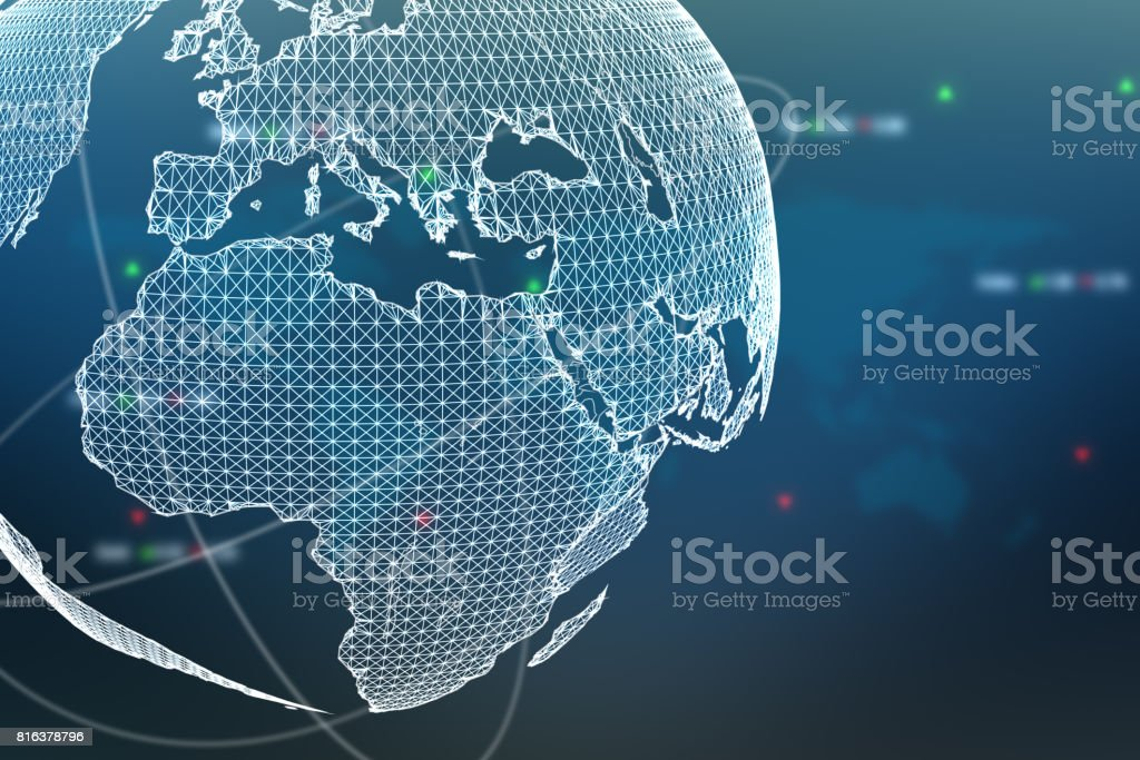 Connectivity concept stock photo