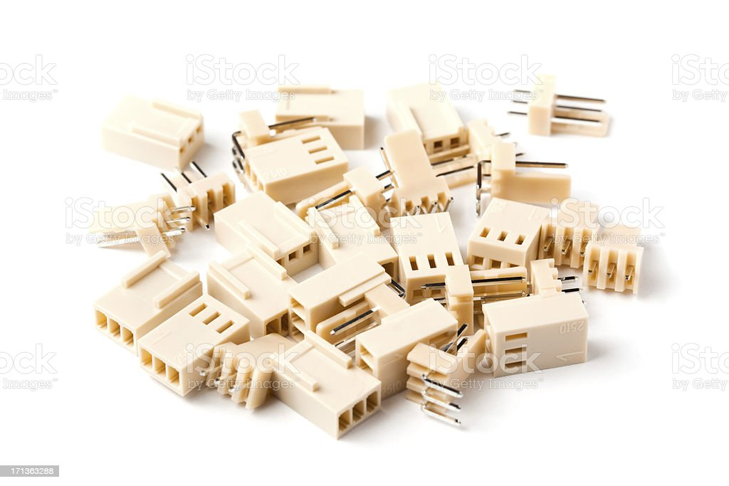 Connector components royalty-free stock photo