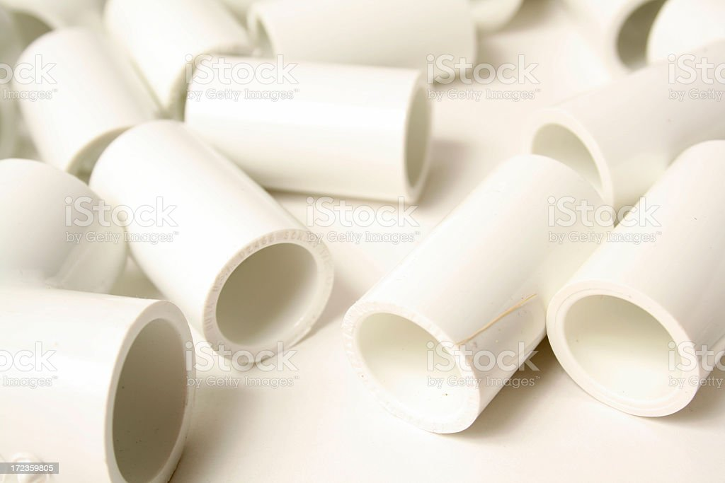 PVC Connectors royalty-free stock photo