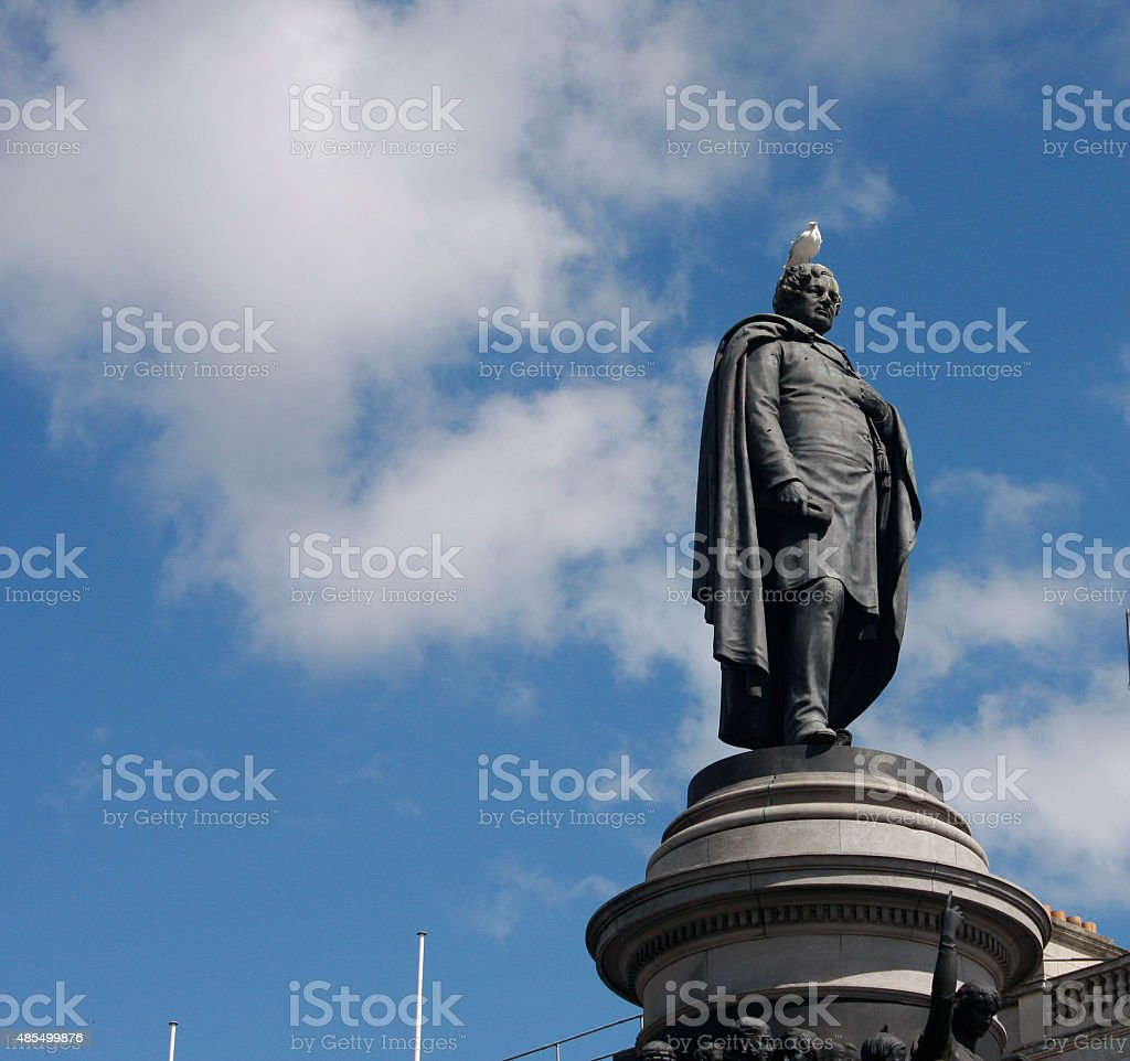 O'Connell Monument stock photo