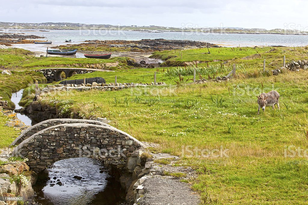 Connemara Coastline royalty-free stock photo