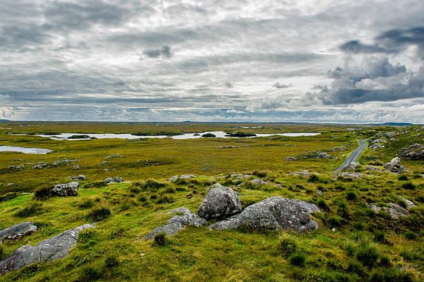 Connemara in Ireland stock photo