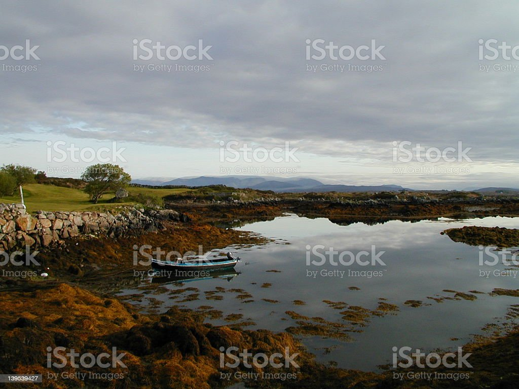 Connemara Isles Golf Club stock photo