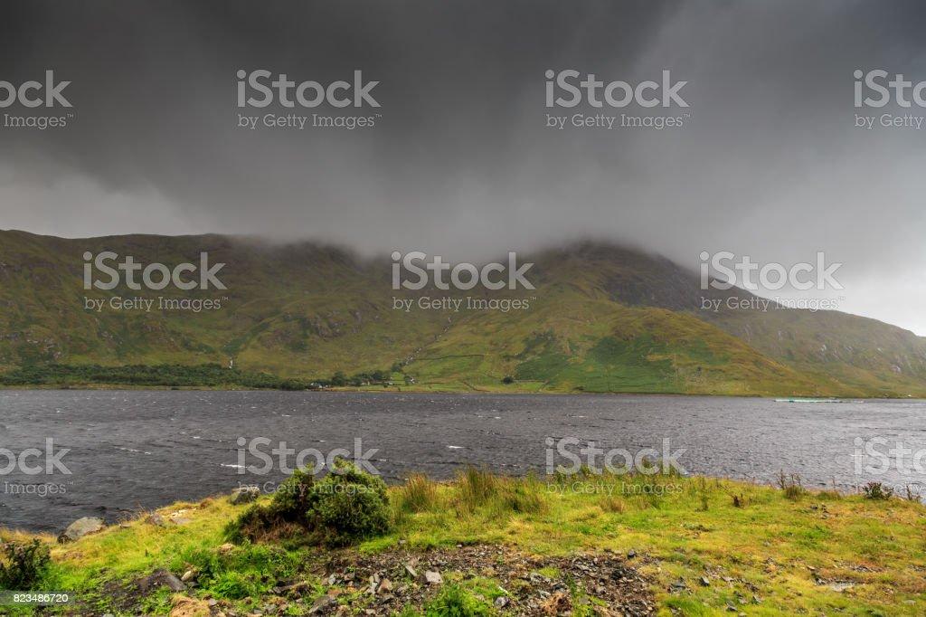 Connemara Landscape, Ireland stock photo