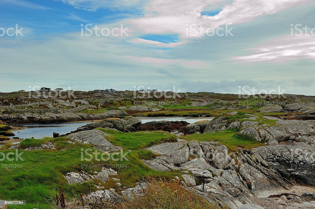 Connemara stock photo