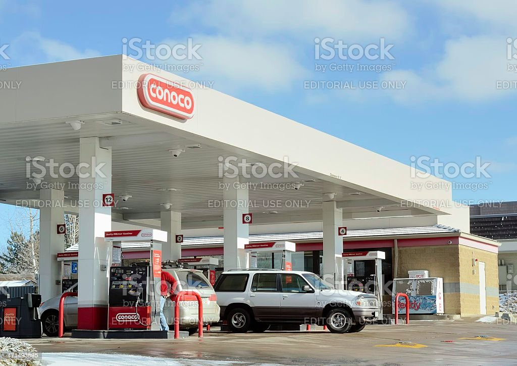 ConocoPhillips royalty-free stock photo
