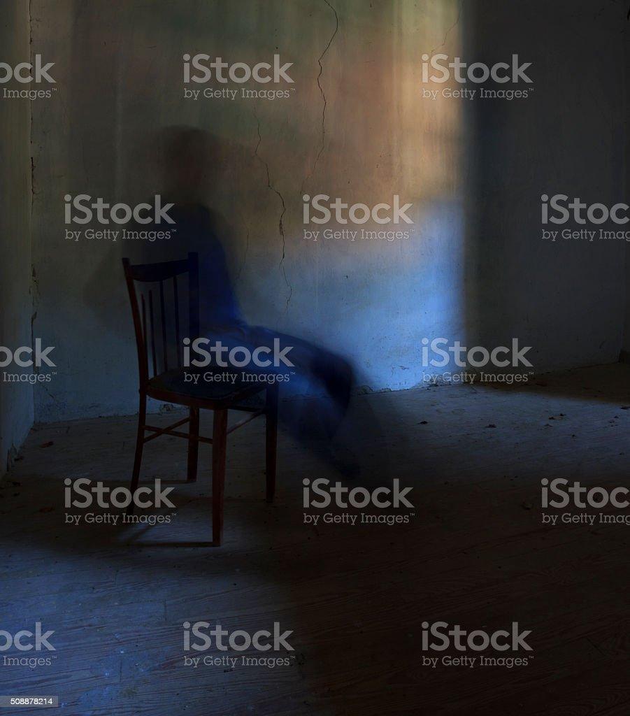 consciousness of the spirit stock photo
