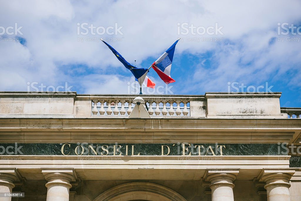 Conseil d'Etat-Rat der Zustand Gebäude – Foto