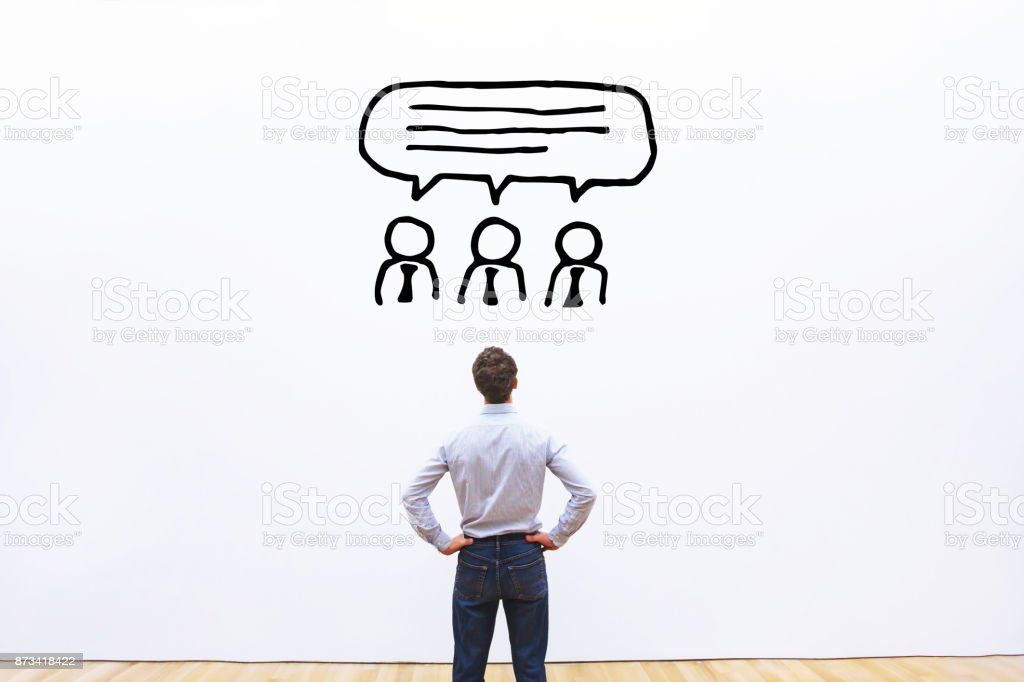 consensus of shareholders stock photo