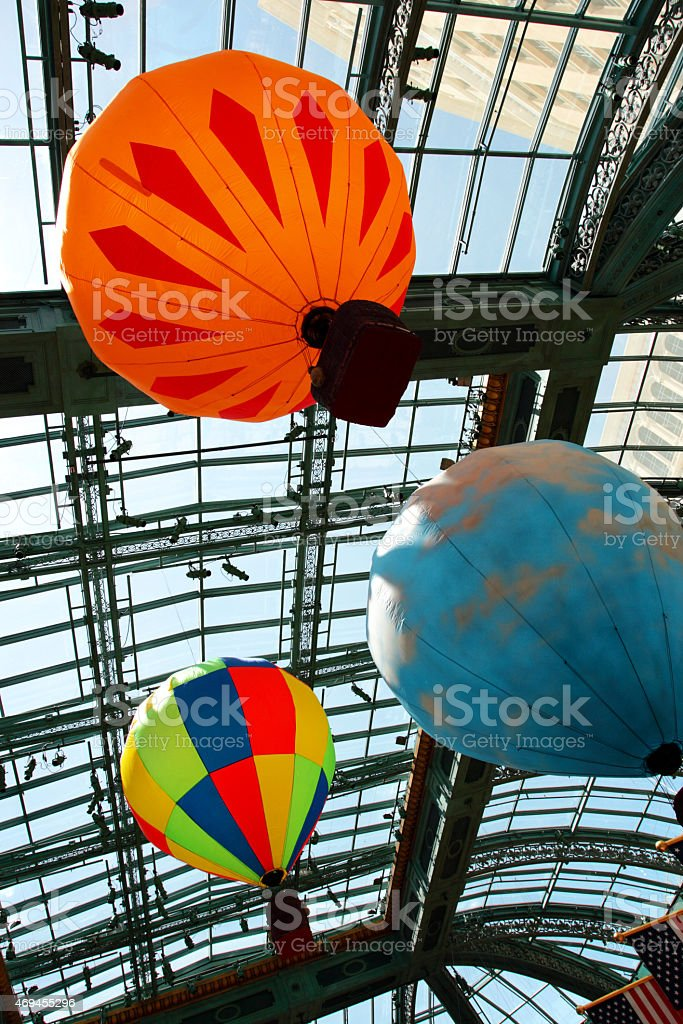 Conservatory and Garden of Bellagio, Las Vegas, USA stock photo