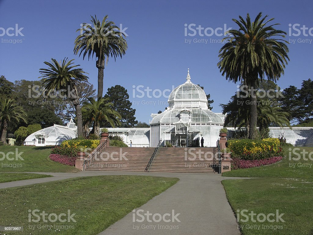 Conservatory of Flowers royalty-free stock photo