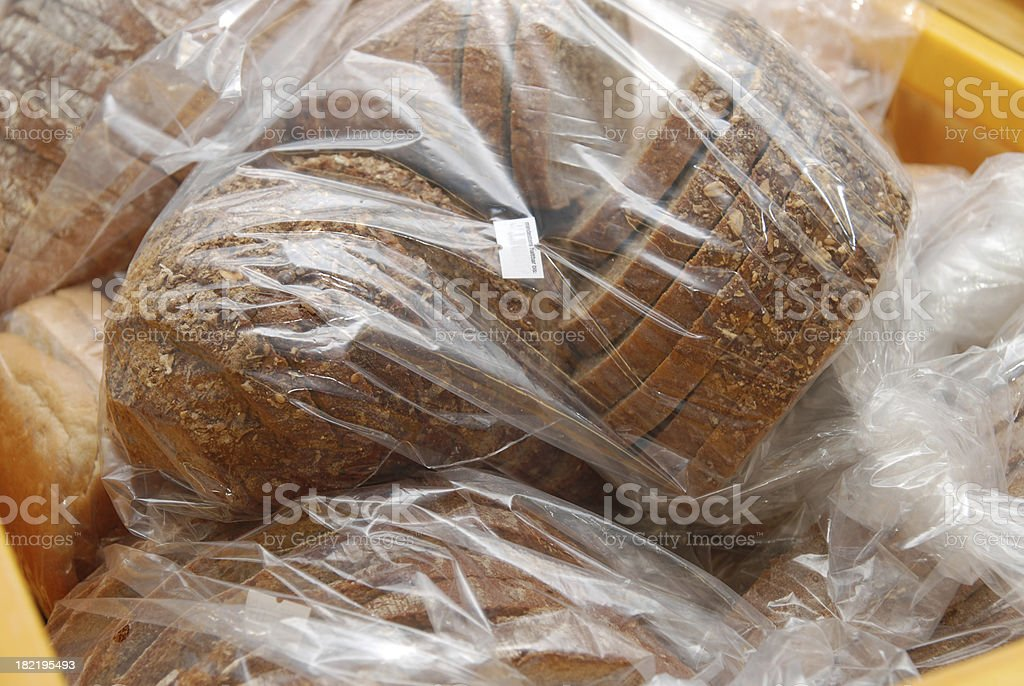 conserved buns and bread stock photo
